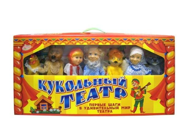 Игровой набор Весна Кукольный театр 5
