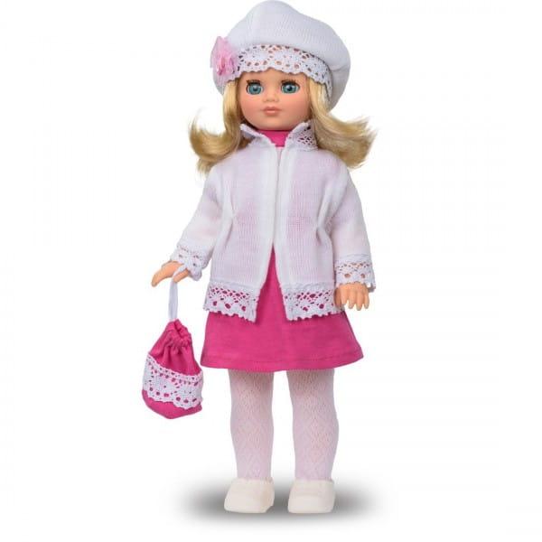 Кукла Весна Лиза в шапочке и теплой кофте (со звуком)