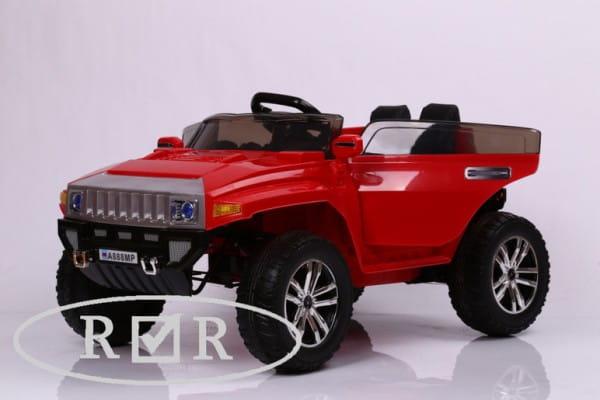 Купить Электромобиль River Toys Hummer A888MP (с дистанционным управлением) в интернет магазине игрушек и детских товаров