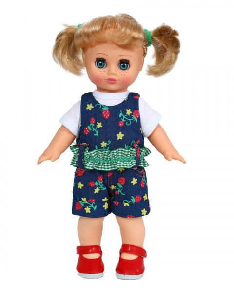 Кукла Весна В422/о/С422/о Настя в нарядном комбинезоне - 30 см (со звуком)