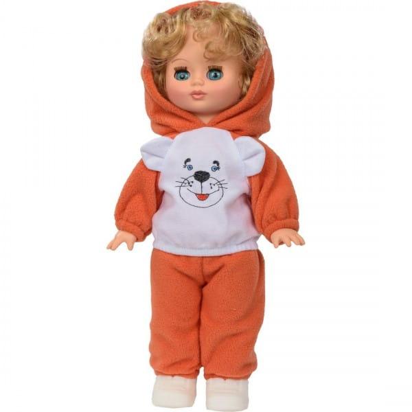 Кукла ВЕСНА Жанна в костюме с принтом (со звуком)