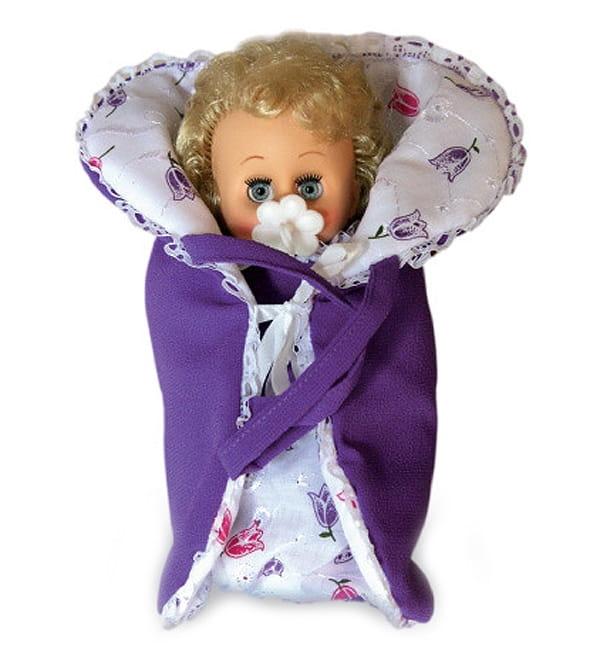 Кукла-пупс ВЕСНА Юлька в конвертике - 23 см