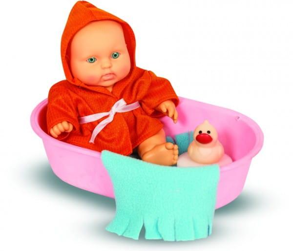 Пупс Весна В594/С594 Карапуз мальчик в ванночке - 20 см (с аксессуарами)