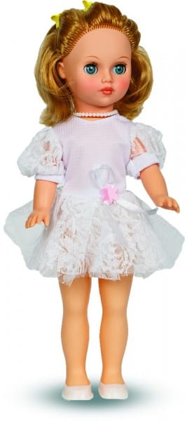 Кукла Весна Мила в легком кружевном платье