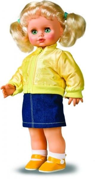Кукла Весна Инна в желтой ветровке - 43 см (со звуком)