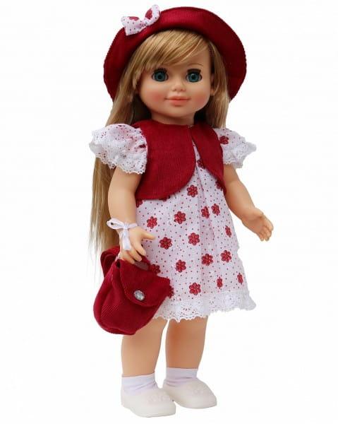 Кукла ВЕСНА Анна в модном жилете в рубчик (со звуком)