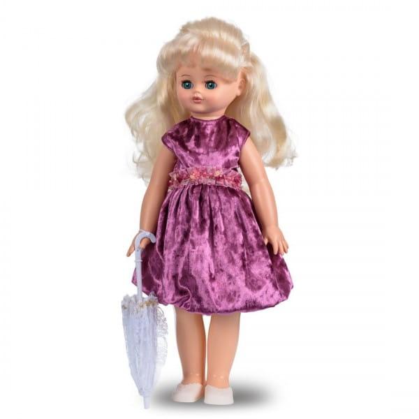 Кукла Весна Алиса в атласном фиолетовом платье (со звуком)