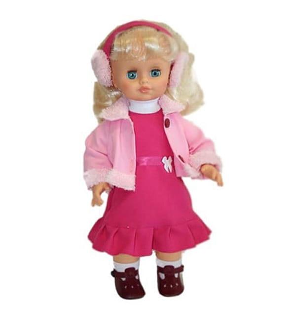Кукла Весна Н442/о/С442/о/В442/о Инна в розовых наушниках - 43 см (со звуком)