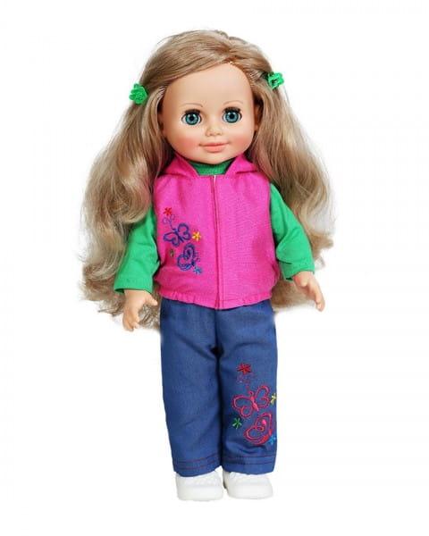 Кукла Весна Анна в джинсах и безрукавке - 42 см (со звуком)