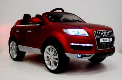 Купить Электромобиль River Toys Audi Q7 VIP с дистанционным управлением в интернет магазине игрушек и детских товаров