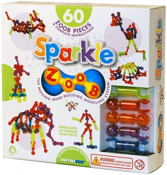 Конструктор Zoob Sparkle (60 деталей)
