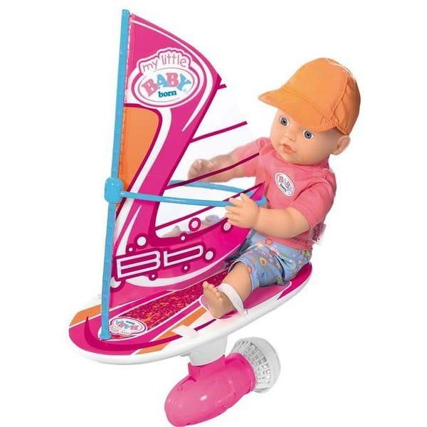 Купить Кукла My little Baby born Серфер - 32 см (Zapf Creation) в интернет магазине игрушек и детских товаров