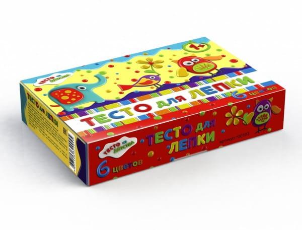 Набор для творчества Тесто из детства т00103 - 6 цветов