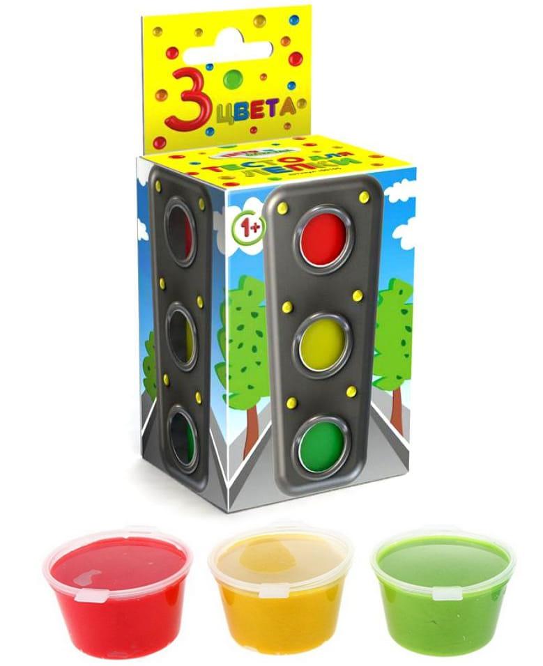 Набор для творчества Тесто из детства т00105 - 3 цвета