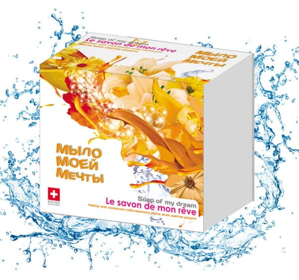 Набор для создания мыла Intellectico (оранжевый)