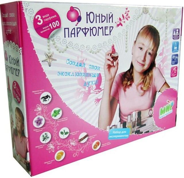 Большой набор INTELLECTICO Юный парфюмер