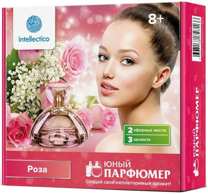 Мини набор INTELLECTICO Юный парфюмер - Роза