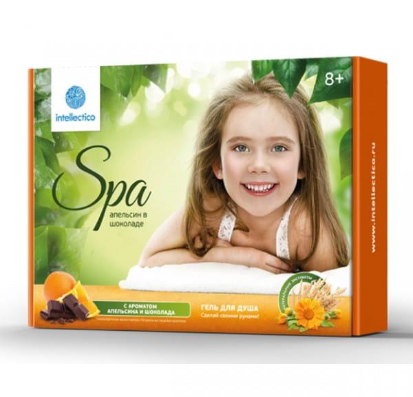 Набор Intellectico Гель для душа Апельсин в шоколаде