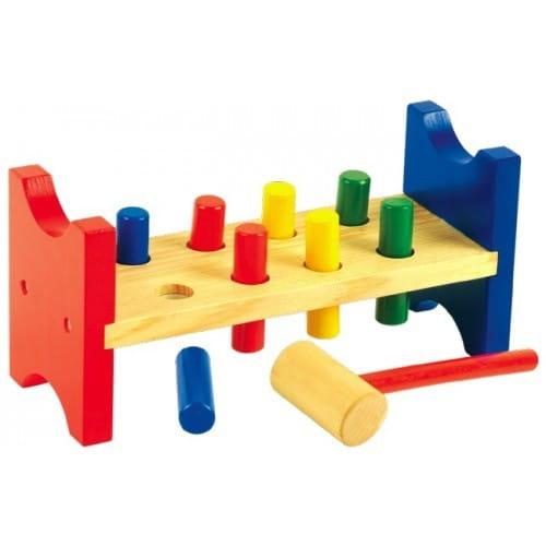 Купить Развивающая игрушка Мир деревянных игрушек Гвозди-перевертыши в интернет магазине игрушек и детских товаров