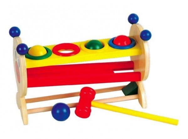Развивающая игрушка Мир деревянных игрушек Горка с шариками