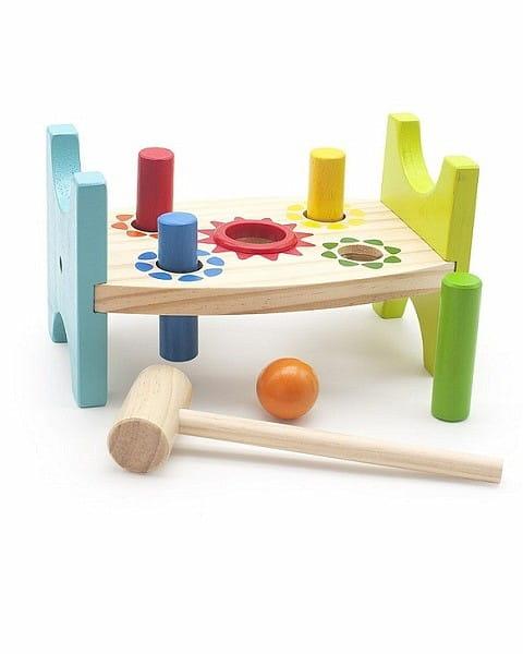 Стучалка Мир деревянных игрушек Шарик и гвоздики