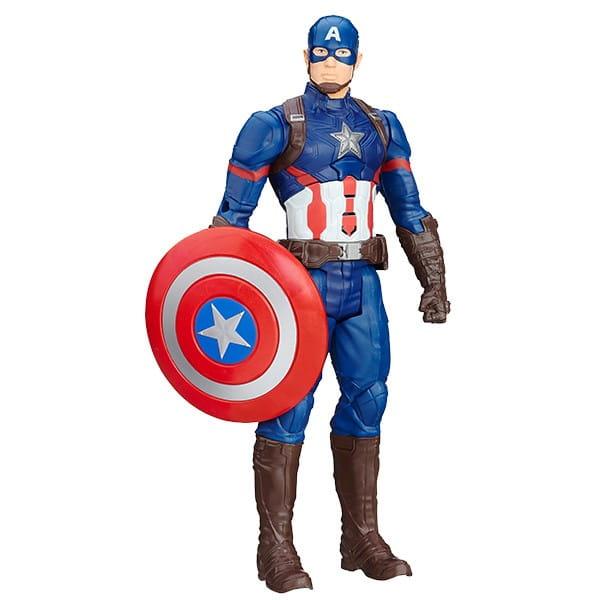 Купить Интерактивная фигурка Первого Мстителя Hasbro Avengers в интернет магазине игрушек и детских товаров