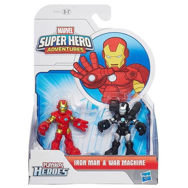 Набор из двух фигурок Playskool Heroes Марвел (Hasbro)