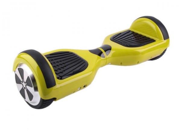 Купить Гироскутер Novelty Electronics L1 - желтый в интернет магазине игрушек и детских товаров