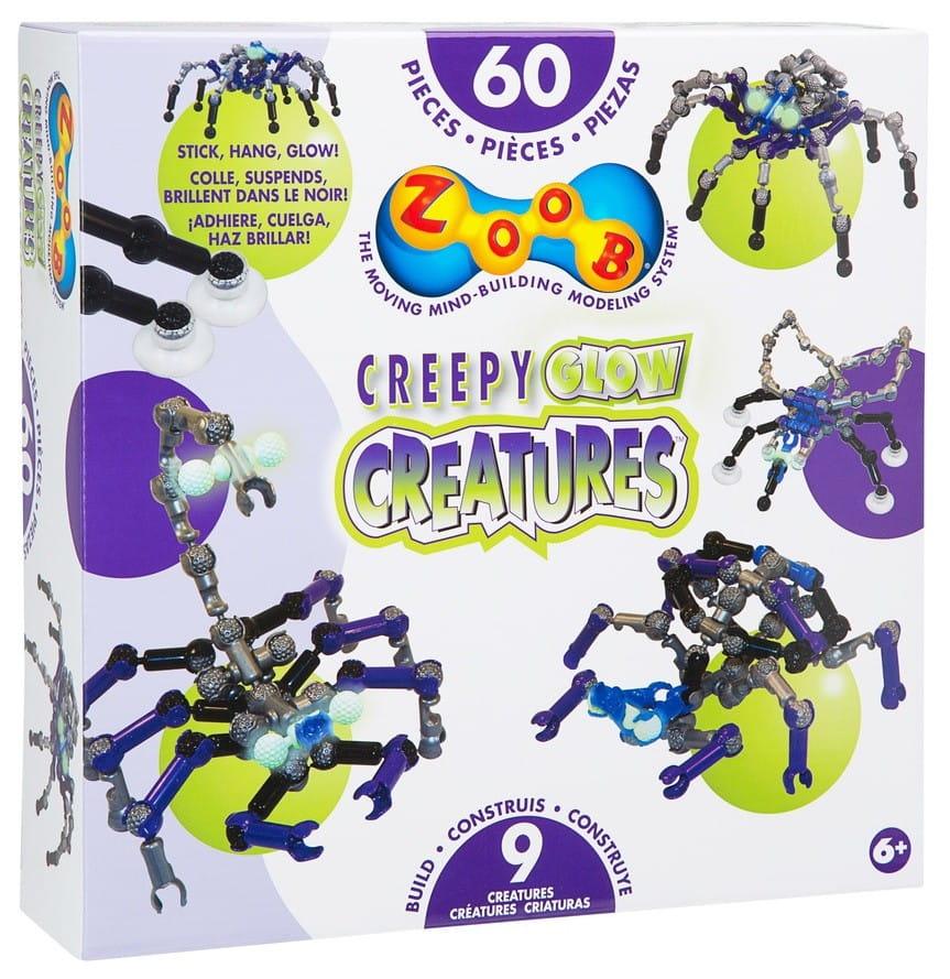 Конструктор Zoob 14003 Creepy Glow Creatures - 60 деталей