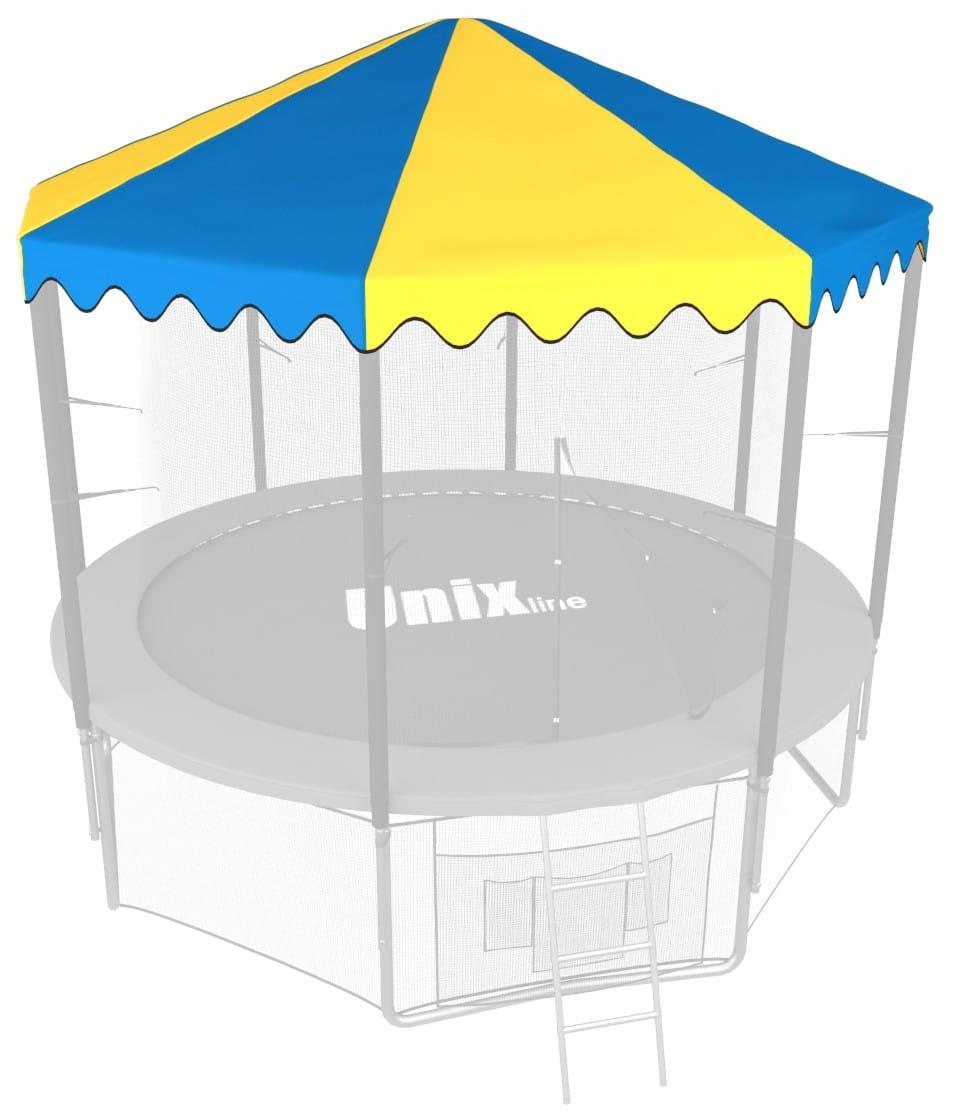 Крыша UNIX для батута 8 футов - 244 см (голубая)