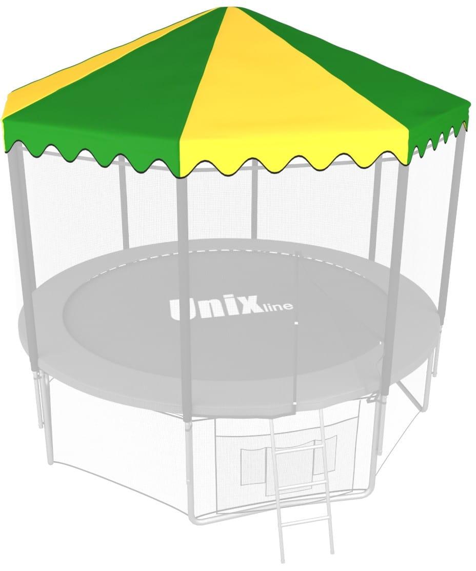 Крыша Unix ROU8 для батута 8 футов - 244 см (зеленая)
