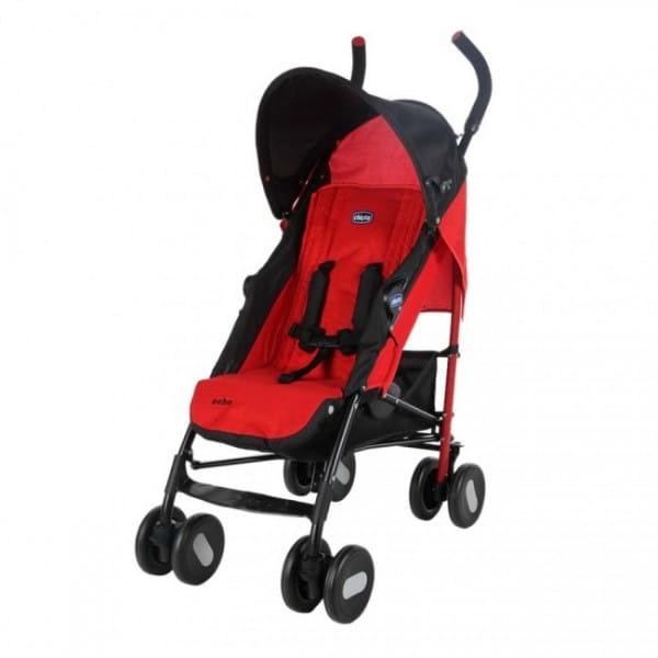 Купить Коляска-трость Chicco Echo Stroller с бампером Garnet в интернет магазине игрушек и детских товаров