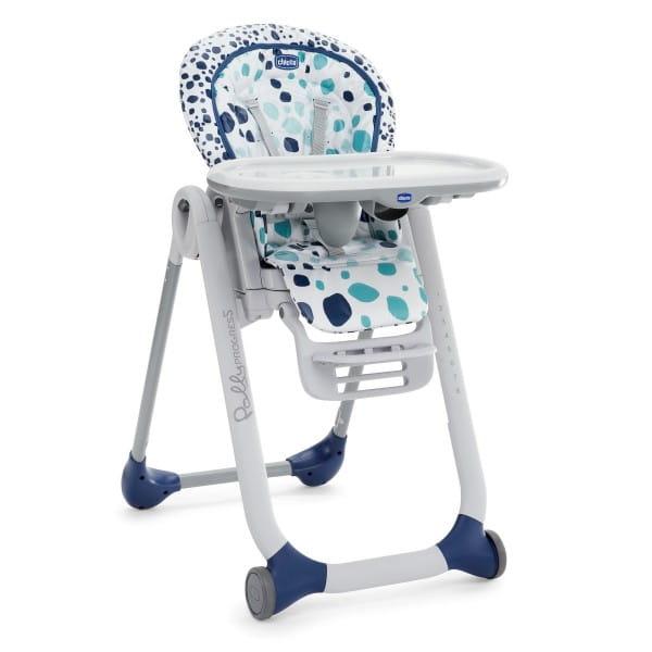 Купить Стульчик для кормления Chicco Polly Progres 5 Iceberg в интернет магазине игрушек и детских товаров