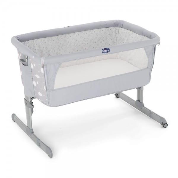 Купить Детская кроватка Chicco Next2me Circles в интернет магазине игрушек и детских товаров