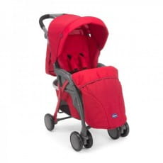 Фото Прогулочная коляска Chicco Simplicity Plus Top Red