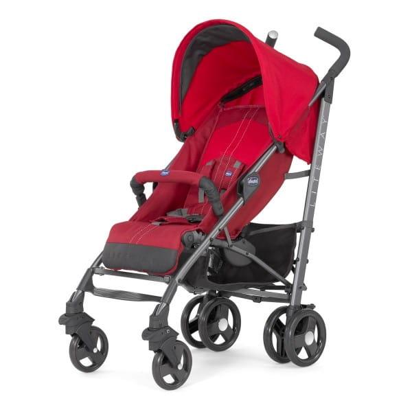 Купить Прогулочная коляска Chicco Lite Way 2 Top BB Red в интернет магазине игрушек и детских товаров