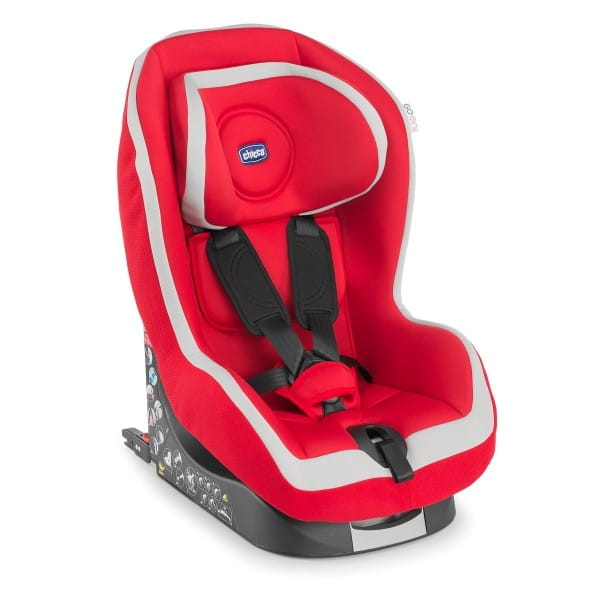 Купить Автокресло Chicco Go-One Isofix Red в интернет магазине игрушек и детских товаров