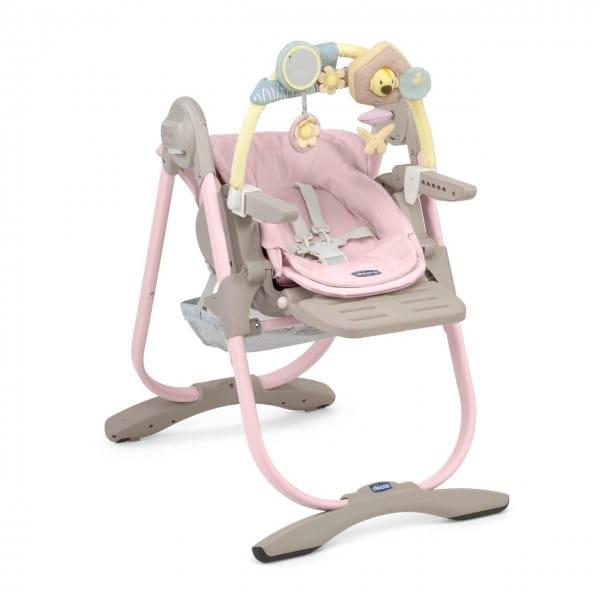 Купить Стульчик для кормления Chicco Polly Magic Pink в интернет магазине игрушек и детских товаров