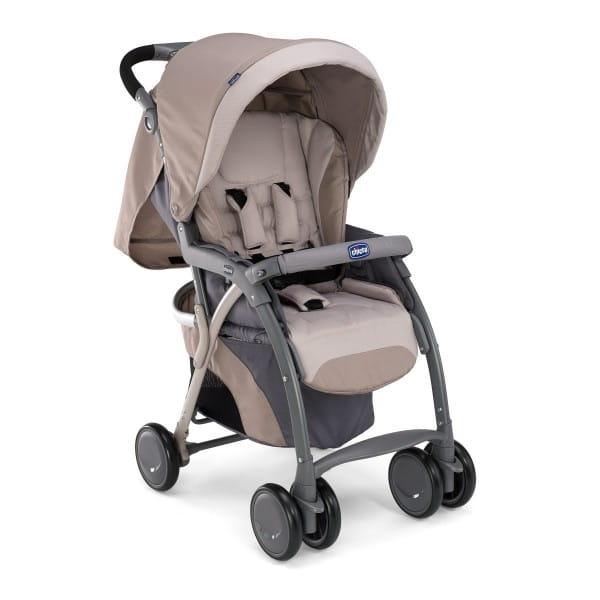 Купить Прогулочная коляска Chicco SimpliCity Plus Top Sand в интернет магазине игрушек и детских товаров
