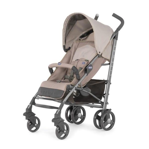 Купить Прогулочная коляска Chicco Lite Way 2 Top BB Sand в интернет магазине игрушек и детских товаров