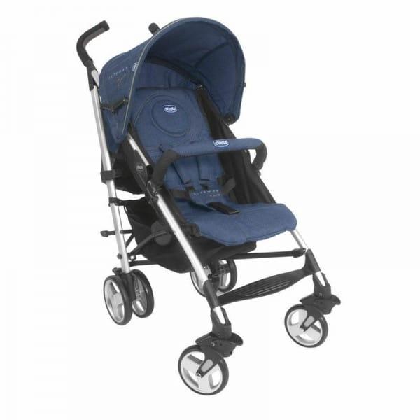 Купить Прогулочная коляска ChiccoLiteWay2TopBBDenim в интернет магазине игрушек и детских товаров