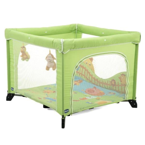 Купить Манеж Chicco Green Open World Green в интернет магазине игрушек и детских товаров