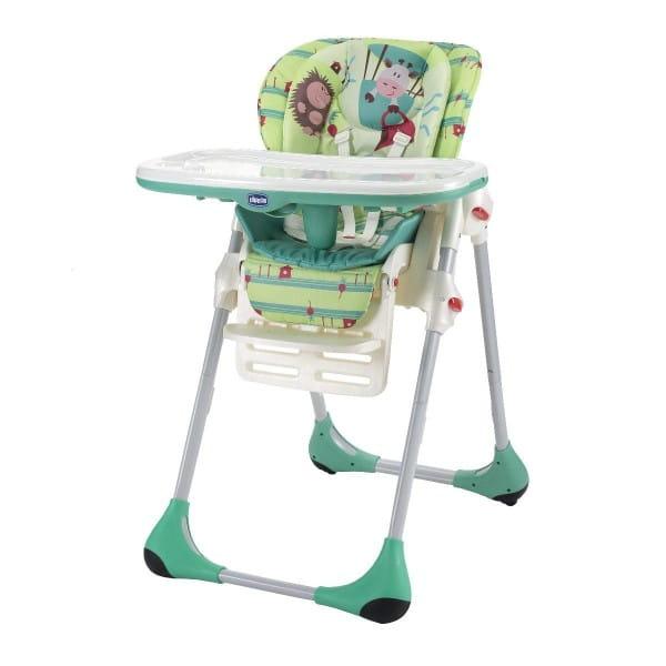 Купить Стульчик для кормленияChiccoPolly2в1Greenland в интернет магазине игрушек и детских товаров