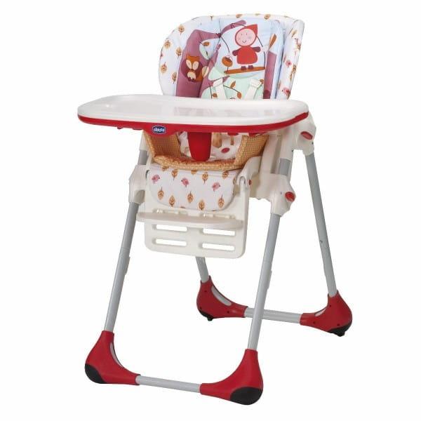 Купить Стульчик для кормления Chicco Polly 2 в 1 Happy Land в интернет магазине игрушек и детских товаров