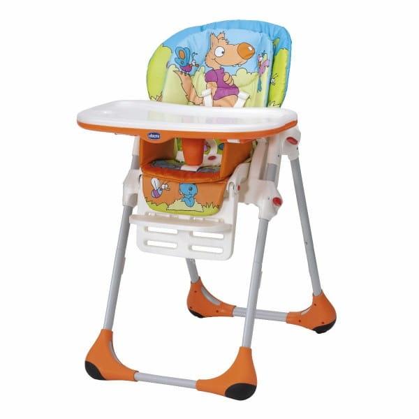 Купить Стульчик для кормления ChiccoPolly2в1 Wood Friends в интернет магазине игрушек и детских товаров