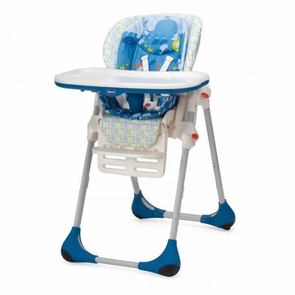 Купить Стульчик для кормленияChiccoPolly2в1 Sea World в интернет магазине игрушек и детских товаров