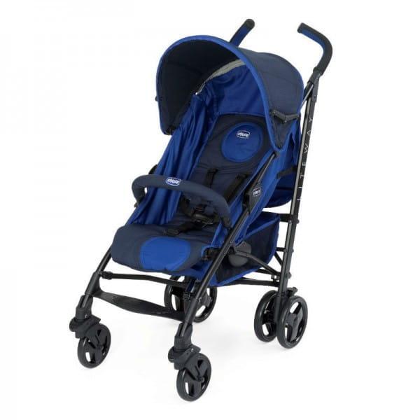 Купить Коляска-трость Chicco Lite Way Top BB Royal Blue в интернет магазине игрушек и детских товаров