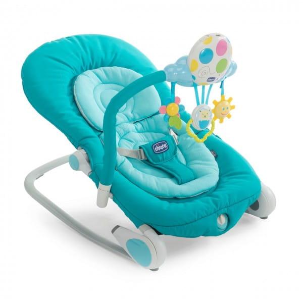 Кресло-качалка Chicco 7934948 Balloon с музыкальным блоком Light Blue