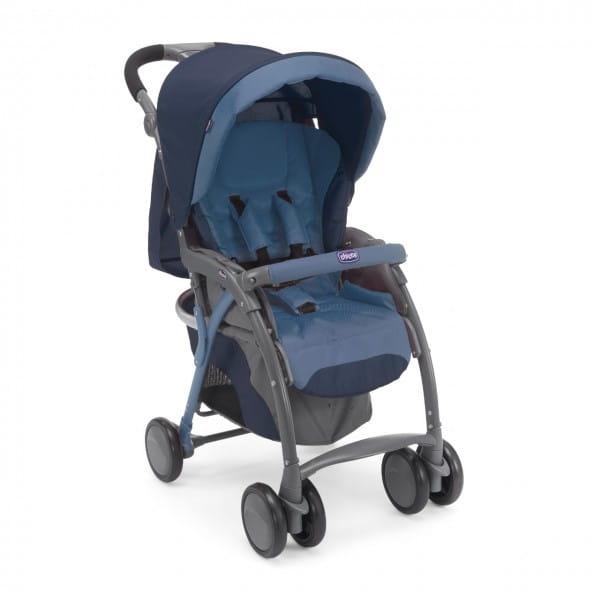 Купить Прогулочная коляска Chicco SimpliCity Plus Top Blue в интернет магазине игрушек и детских товаров
