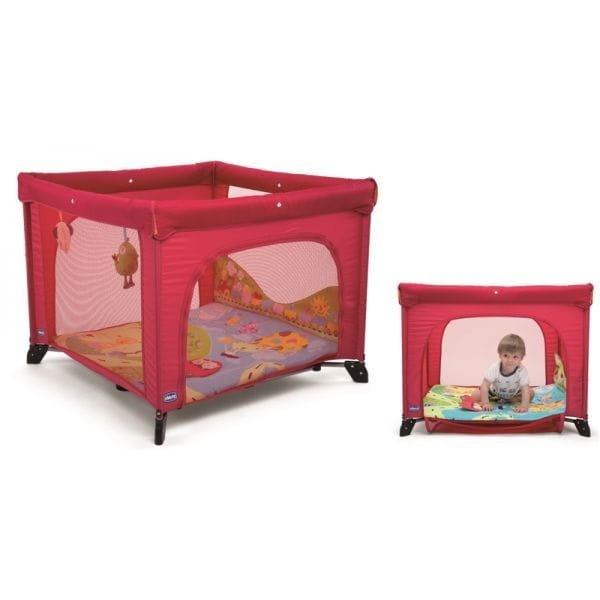 Купить Манеж Chicco Open World Baby World Red в интернет магазине игрушек и детских товаров